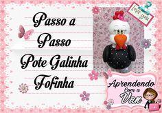 (DIY) PASSO A PASSO GALINHA FOFINHA COM MOLDE MINI PETS G