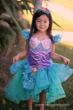 being MVP: Disney Ariel Little Mermaid Costume Review