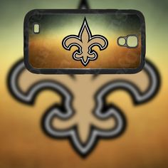 New Orleans Saints Design on Samsung Galaxy S4 Black Rubber Silicone Case by EastCoastDyeSub on Etsy https://www.etsy.com/listing/173159179/new-orleans-saints-design-on-samsung