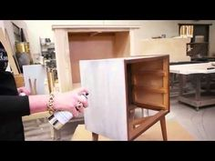 Watch as Amy Howard uses her Furniture Lacquer allows you to transform a piece of furniture for under $20
