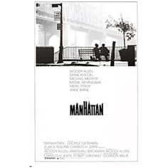 Image result for manhattan movie poster