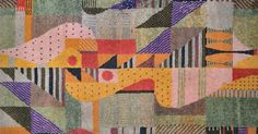 German textile artist, Gunta Stölzl, played a fundamental role in the development of the Bauhaus school's weaving workshop. She created immense change within the textile field by uniting art practices taught at Bauhaus with traditional textile techniques and became the first woman Master at the school. Bauhaus Textiles, Bauhaus Art, Bauhaus Design, Tapestry Weaving, Walter Gropius, Textiles Techniques, Weaving Techniques, Textile Fiber Art, Textile Artists