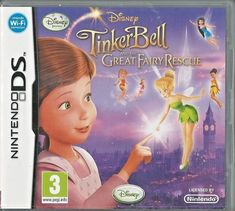 20cad796b6c4fe Disney TINKERBELL and the Great Fairy rescue Nintendo Ds (plays 3ds 2ds in  2d)