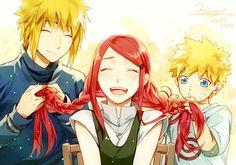 Tags: Fanart, NARUTO, Uzumaki Naruto, Pixiv, Uzumaki Kushina, Namikaze Minato, Aoshiki, Fanart From Pixiv, Uzumaki Family