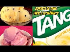 SORVETE DE TANG RÁPIDO - MISTUROU TA PRONTO - 3 INGREDIENTES - Manual da Cozinha Mousse, Watermelon, Food And Drink, Low Carb, Ice Cream, Favorite Recipes, Sweets, Candy, Fruit