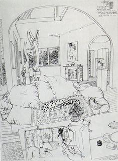 Brett Whiteley....probably my favourite artist