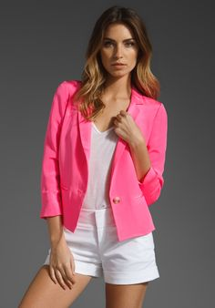 Pink blazer, why not!?