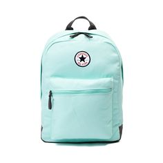 From work, to school, and play, the All Star Logo Backpack from Converse has you covered! The All Star Logo Backpack sports a sturdy canvas exterior and front utility pocket for all of your creative supplies. Converse Bag, Converse All Star, Cute Backpacks For School, Green Bag, Mint Green, Star Logo, Niece And Nephew, School Bags, Purses And Bags