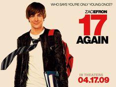 Zac Efron 17 Again, New Movie Posters, New Line Cinema, Zac Efron, New Movies, Sayings, Free, Lyrics, Quotations