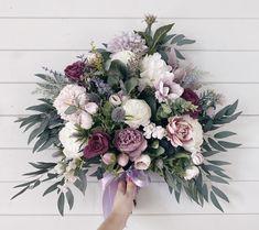 Wedding Bouquet Prices, Purple Wedding Bouquets, Bridal Bouquet Fall, Mauve Wedding, Rose Wedding Bouquet, Bridesmaid Bouquet, Bridesmaids, Lilac Wedding Flowers, Lime Wedding