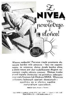 Retro REKLAMA - Krem NIVEA - 1934 rok