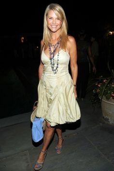 Christie Brinkley, supermodel, at 54! Wow.