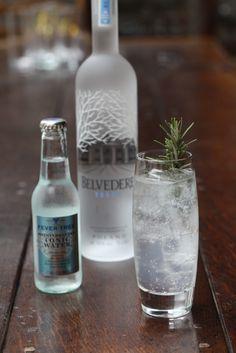 Belvedere vodka en FeverTree Mediterranean tonic