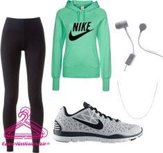 Hermosos outfits de deporte✌️ lindos conjuntos deportivos #deportivas #tendencias #moda
