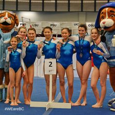 Did you know that 5 of Team BC's 2011 Canada Games gymnasts have received NCAA scholarships? It's true! Emma, Shae, Briannah, Kerensa, and Taylor are all competing in the NCAA! #WEareBC #CGgymnastics