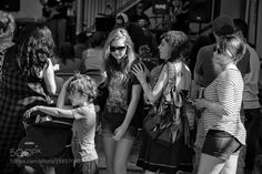 Bystanders Norman Music Festival by crushton43 Street Photography #InfluentialLime