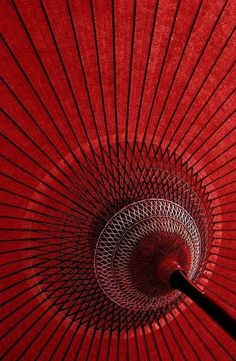 Detail of the red japanese umbrella used in tea ceremonies performed outdoors.Detail of the red japanese umbrella used in tea ceremonies performed outdoors. Geisha, Instagram Png, I See Red, Red Umbrella, Oil Paper Umbrella, Simply Red, Photocollage, Red Aesthetic, Colour Board