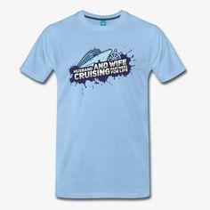 Pioletta Art - Designs & more | Husband & Wife Cruise Partners For Life - Männer Premium T-Shirt T Shirts, Boats, Cool Designs, Husband, Mens Tops, Life, Art, Fashion, Tee Shirts