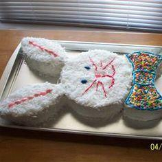 Easy Bunny Cake Allrecipes.com