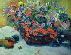 Bouquet of Flowers 1897 - Paul Gauguin