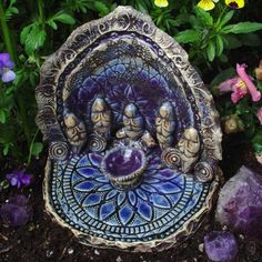 Altars: Garden Altar. - Pinned by The Mystic's Emporium on Etsy