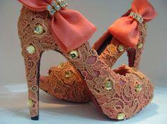 Border'Art Brasil: Sapatos Renovados - Customize e Modernize! (acompanhe um tutorial)