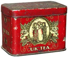 Tea! ...your choice, stored in this vintage tin.