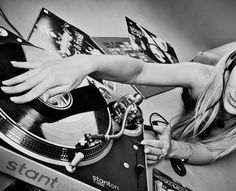 Female DJ. My weakness...*Sigh*