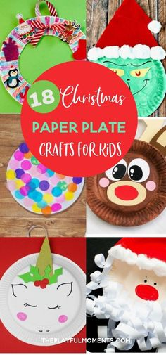 18 Festive Paper Plate Crafts You Need to Make This Christmas