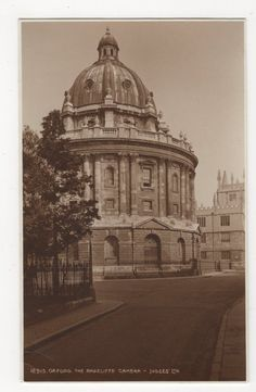 Oxford, The Radcliffe Camera, Judges 12915 Postcard, A929 in Collectables, Postcards, Topographical: British, England, Oxfordshire | eBay
