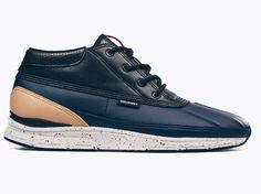 Probably one of my favourite sneaker brand by far. Gourmet. These are the Gourmet Quadici light in the Navy, Black & Almond colorway.