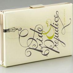 Kate Spade Pride and Prejudice book clutch