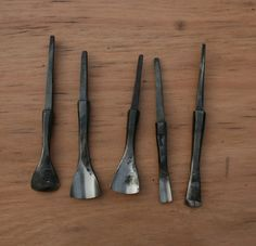 All tools are also available as blades only, allowing you to create your perfect tool Green Woodworking, Woodworking Chisels, Wood Carving Tools, Wood Tools, La Forge, Tool Bench, All Tools, Blacksmith Projects, Blacksmithing