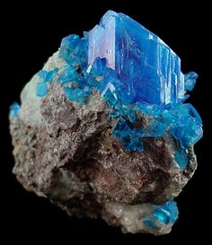 Crystals and Gems and Minerals | Natural Chalcanthite Crystal - The Mineral and Gemstone Kingdom