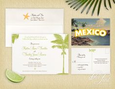 Destination Invitation Suite | Printable by dolcifini on Etsy, $50.00