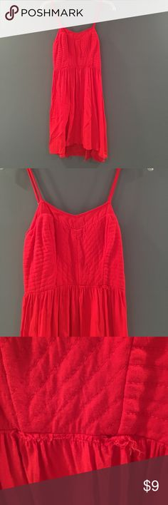 Small red dress from Target. Worn only twice Small red dress from Target. Worn only twice. Small tear on the front. Can be easily fixed or covered by a belt Dresses Mini