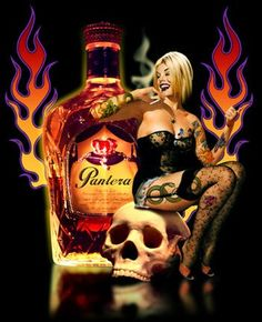 If your a Pantera fan plz post.I just wanna know where my pantera bros at. And I wanna know should this be a real drink? Heavy Metal Rock, Heavy Metal Music, Famous Guitars, Rock Cover, Dimebag Darrell, Rock Posters, Music Posters, Airbrush Art, Best Rock
