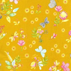 dc7089 little world nature walk tamara kate forest spring summer animal footprints amber gold yellow butterflies butterfly flowers snails mushrooms