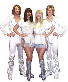 Coolest Abba Costume Bottle Homemade And Famous People