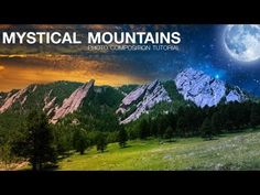 Photoshop: Mystical Mountains Photo Composition Tutorial Published on May 21, 2013 Don't throw out your images! Combining them with some stock images, you can transform your images to a whole new level! Let me show you how to use masking, Adjustment Layers, and a few other tricks to achieve some nice photo composition results in Adobe Photoshop!