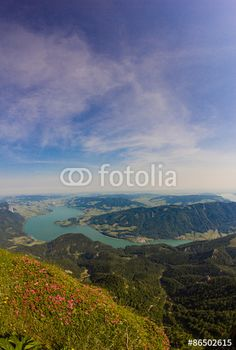 #View To #Lake #Mondsee From #Schafbergspitze @fotolia #fotolia @Salzkammergut @iSalzkammergut #Salzkammergut #nature #landscape #summer #season #mountains #austria #travel #vacation #holidays #sightseeing #outdoor #view #beautiful #wonderful #stock #photo #portfolio #download #hires #royaltyfree