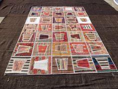 "Decorative Patchwork Rug,9""x6,6"" Feet 278x195 Cm Home Decor Floor Patchwork Rug,Turkish Kilim Patchwork,Modern Pattern Patchwork Rug."
