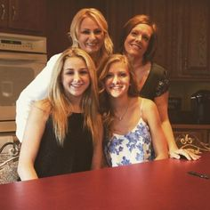 Chloe, Paige, Kelly and Christi Youtube Video 2015