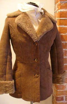 Vintage Industria Argentina Sheepskin Jacket by TheOldBagOnline on Etsy