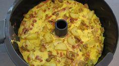 Actifry - omelet med kartofler