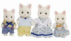 Sylvanian Families - Silk Cat Family 2 my sister would love this, we have 2 cats and she'd love these cute little cat dolls. Sylvanian Families, Little Brothers, Little Boys, Kinds Of Dance, Sister Love, Kawaii, Toys Shop, Classic Toys, Kids Toys