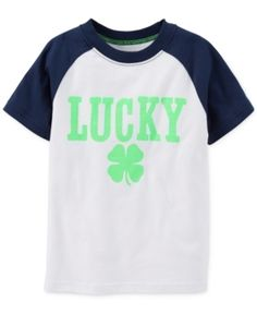 Carter's Little Boys' St. Patrick's Day Lucky Tee