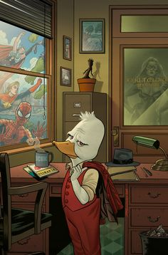The Quack is Back! HOWARD THE DUCK #1 is Coming!
