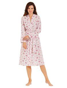 82d81c280a Amber Floral Kimono Robe Size UK 10 12 rrp 21 DH088 NN 14  fashion