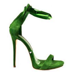 Sandalo Gianmarco Lorenzi in verde